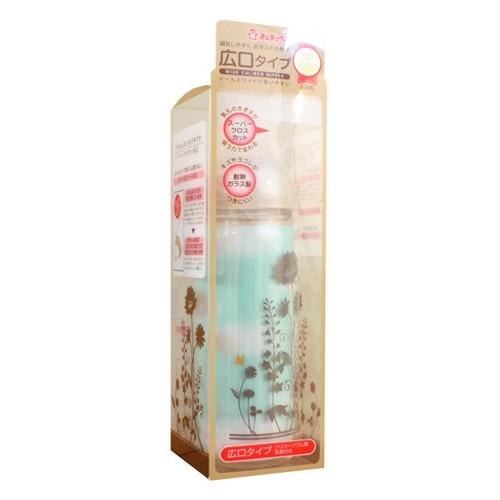CHUCHU BABY Fedding Bottle PPSU Mama Cawa Wide Caliber Unisex Type 240ml [C993676] - Botol Susu